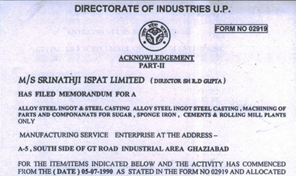 Directorate of Industries - U.P.